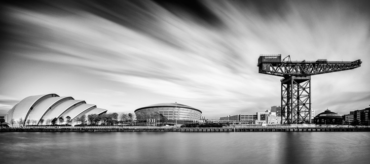 Clyde Auditorium, SSE Hydro and Finnieston Crane   Glasgow