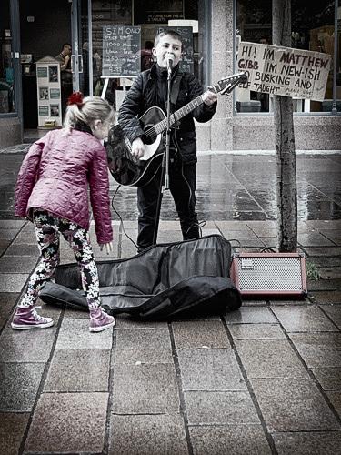 Future star Matthew Gibb | By Colin Robb