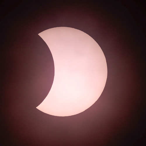 Eclipse 20th March 2015 - Glasgow - The Sun, the Moon, and the Stars!
