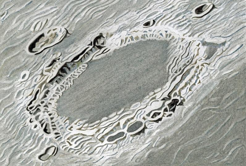 ENDYMION drawing crayon_Resized - Milan Blazek's Ink Drawings