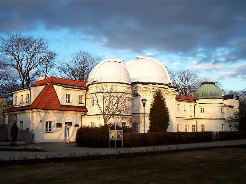 Štefánik's Observatory in Prague - Milan Blazek's Ink Drawings