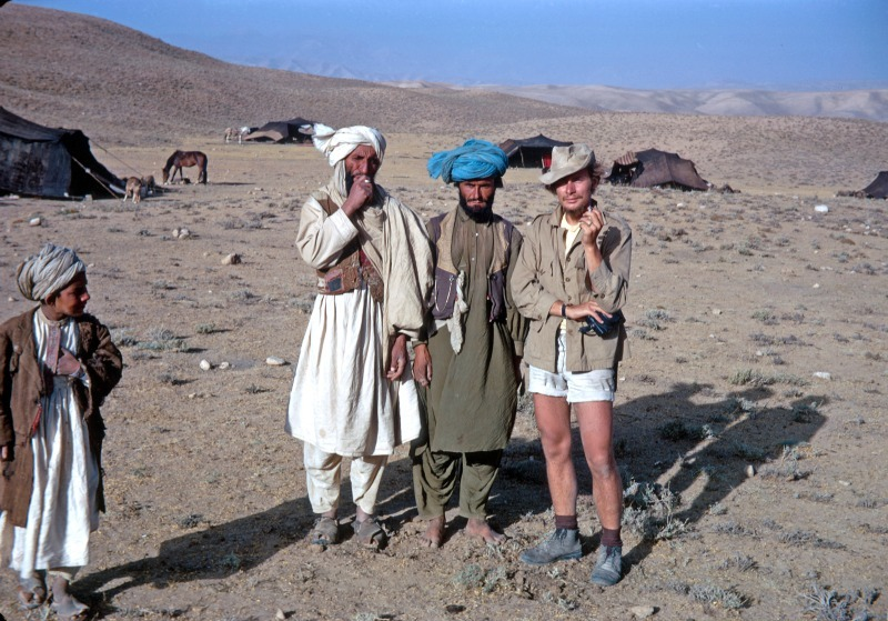 The Photographer and friends - Afghanistan