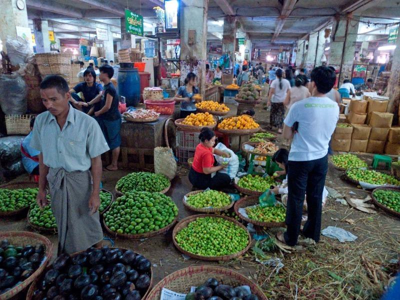 Rangoon Market