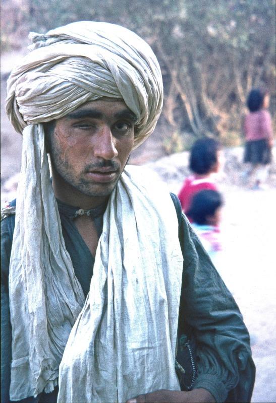 Afghan Pathan tribesman