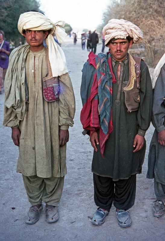 Afghan Pathan tribesmen