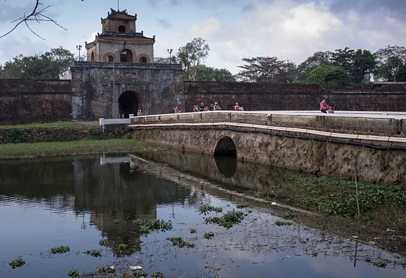 Hue citadel - Vietnam January 2013