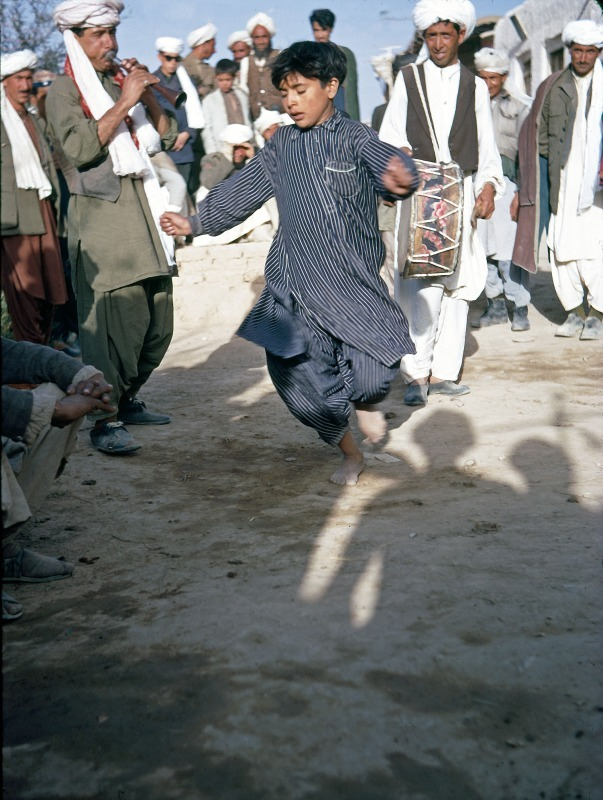 whirling dervish enters a trance in afghanistan