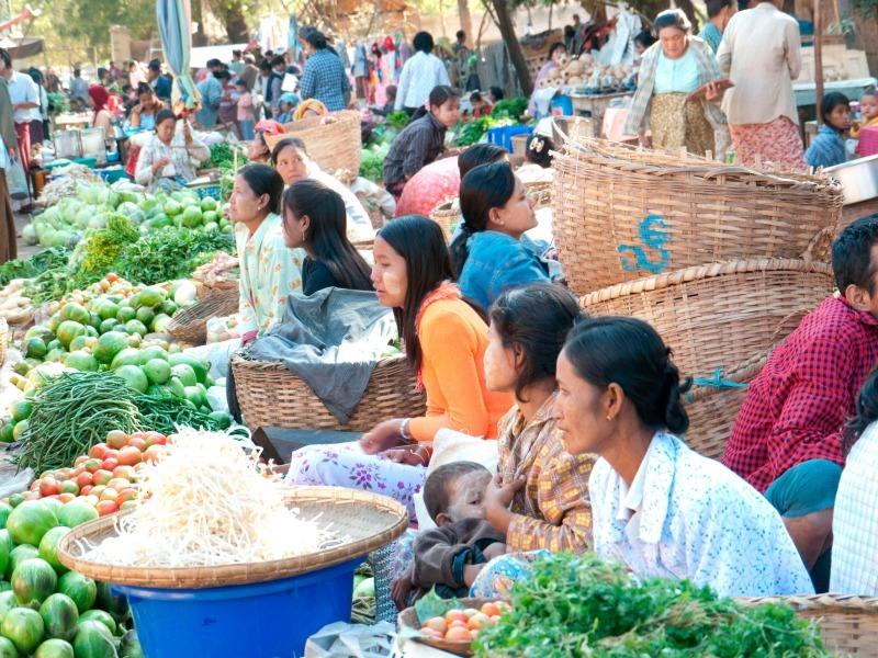 Inthein Market Burma