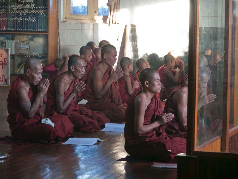 Golden Rock Pagoda, Burma