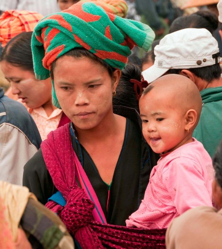 Danu woman in Burma