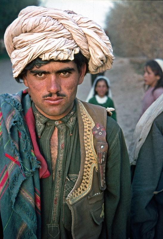 Afghanistan pathan tribesman