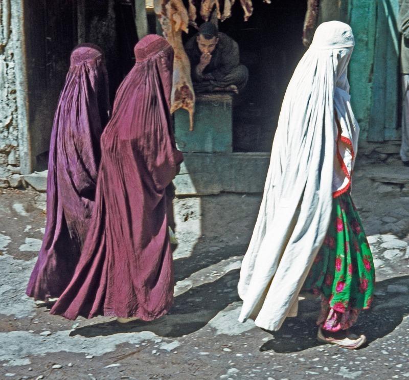 Street scene in Kabul 1970