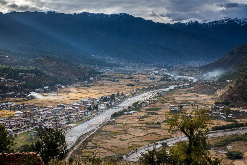 The Paro Valley - Bhutan