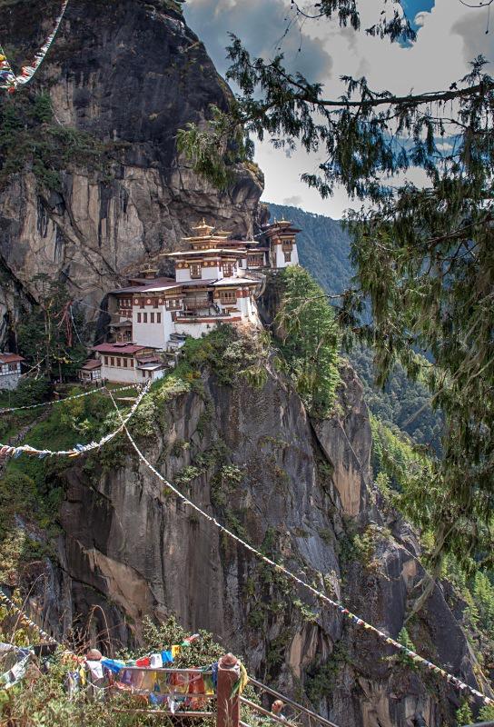 The Tiger's Nest Monastery, Bhutan. Image by Tony Alderton. - Bhutan