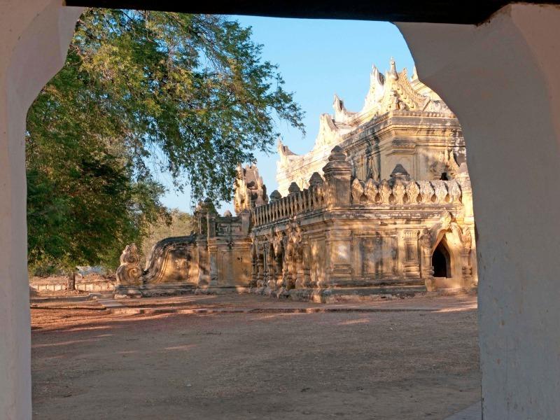 Buddhist pagoda near Bagan