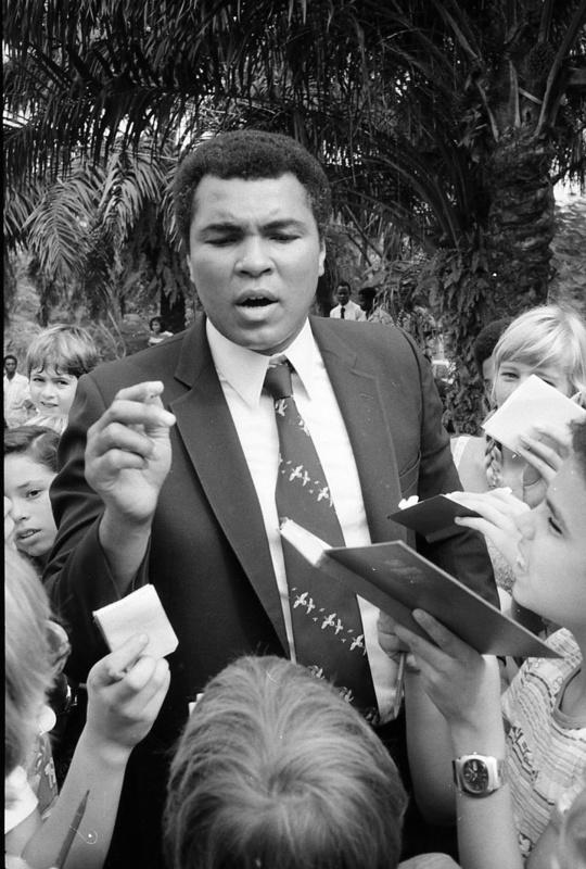 - Muhammed Ali