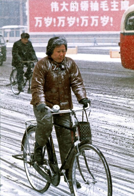 Avenue of Eternal Peace in winter