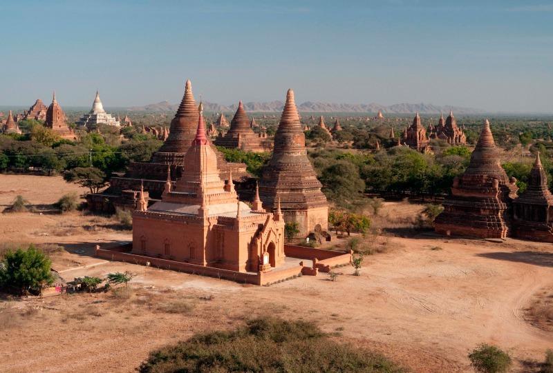 Temples at Bagan, Burma