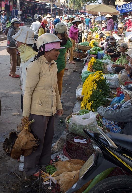 Hoi An market - Vietnam January 2013