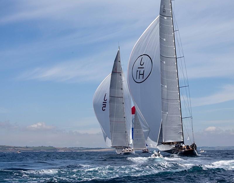 - J Class Yachts Racing at Falmouth