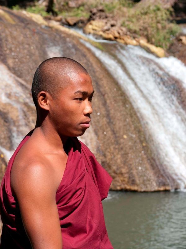 Mandalay monk