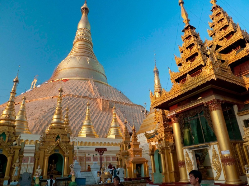 Shwedagon Pagoda Rangoon