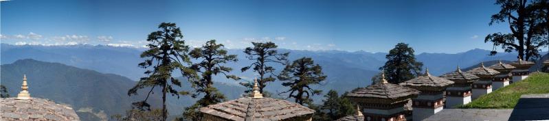 Yutong La pass (3,400metres) - Bhutan