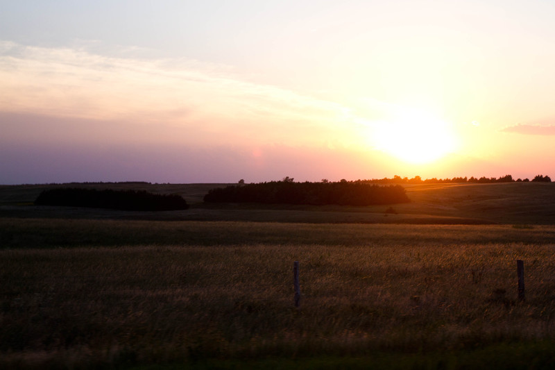Nebraska Sunset - For Sale Scenery Photography