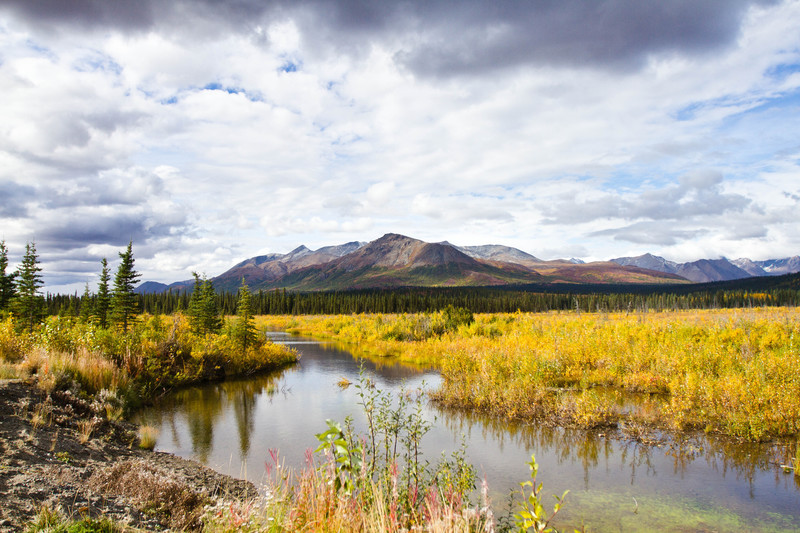 Alaska River - For Sale Scenery Photography