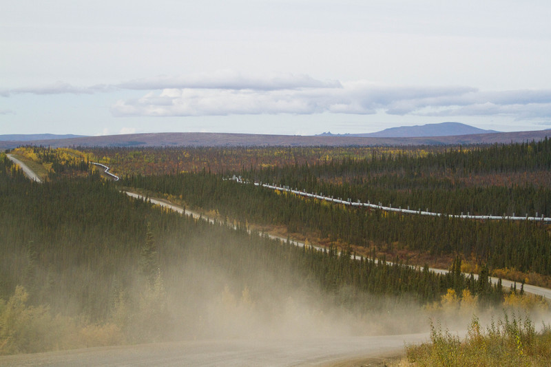 Dalton Highway Dust - For Sale Scenery Photography