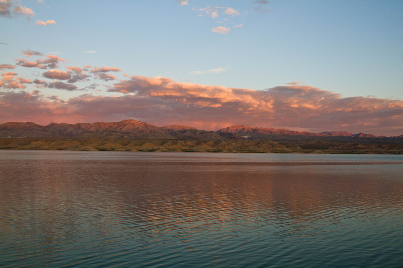 Lake Mead Sunset - For Sale Scenery Photography