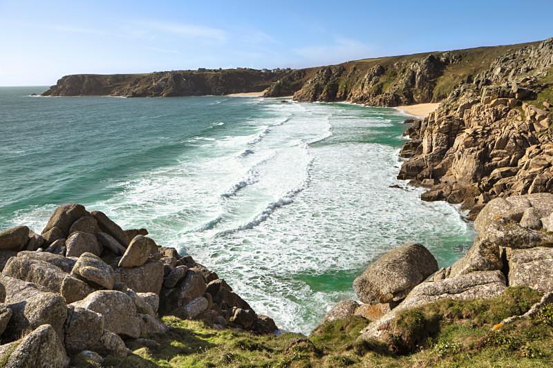 Wild Coast . - Cornwall  TWO .