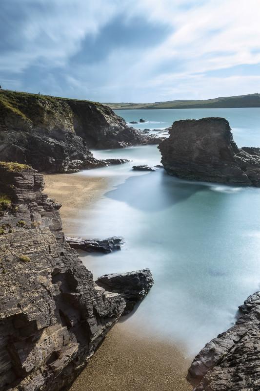 Polzeath Blues - Cornwall  TWO .