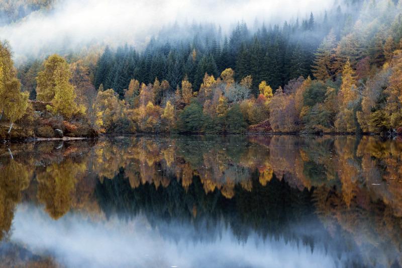 Misty reflections - Scottish Highlands