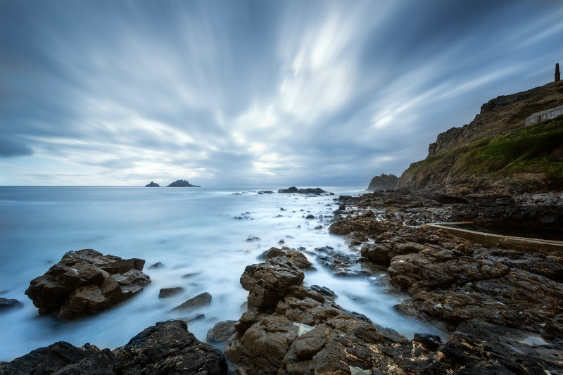 Ocean Calm . - Cornwall three