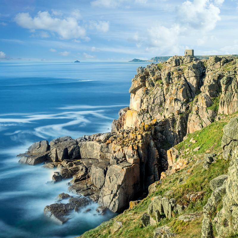 Towards The Cape - Cornwall three