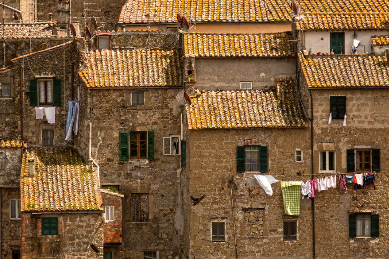 Roof Tops - Tuscany