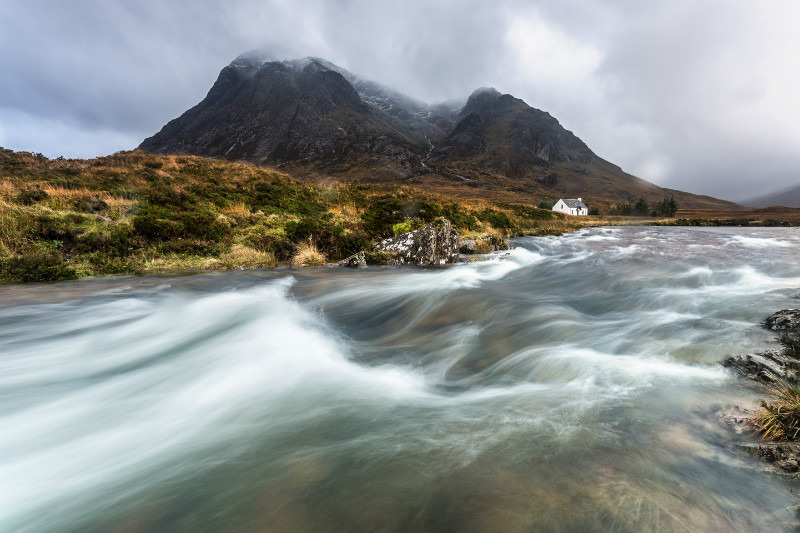 Fast waters' - Scottish Highlands