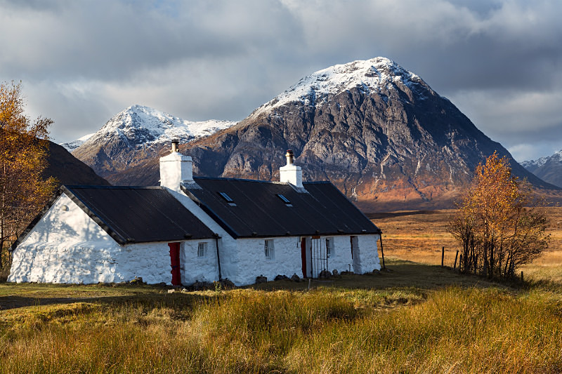 Gold valley. - Scottish Highlands