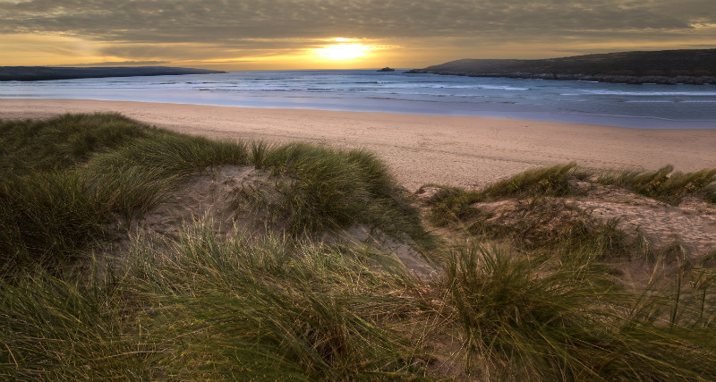Evening Light - Cornwall three