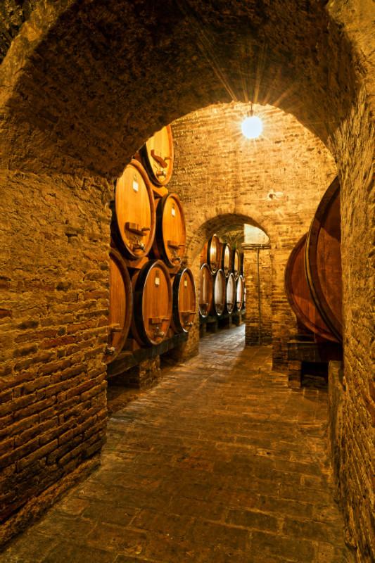 The Wine cellar - Tuscany