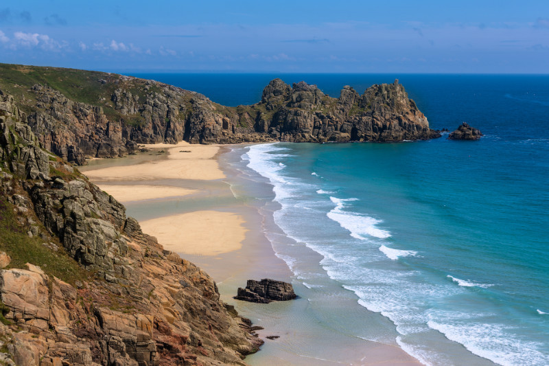 Porthcurno Blues - Cornwall three