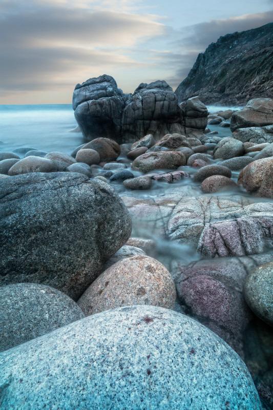 Towards the rock - Cornwall three