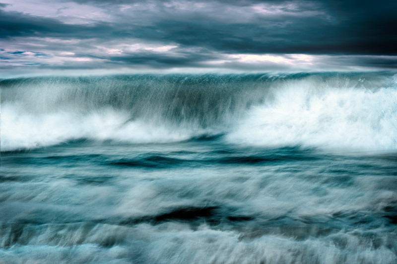 The Last Waves. - Seascapes