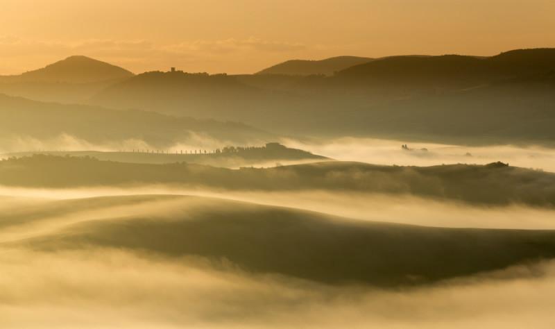 Soft mist - Tuscany