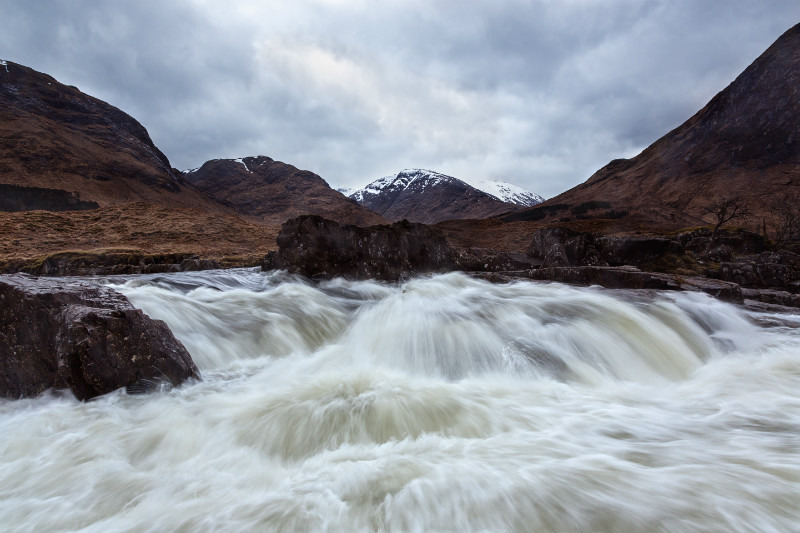 Tumbling Waters. - Scottish Highlands