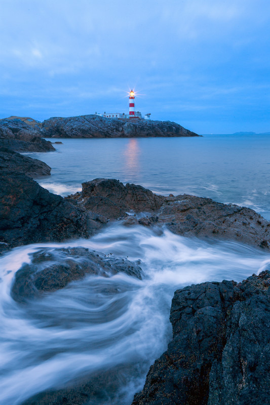 The lighthouse Guardian. - Scottish Highlands