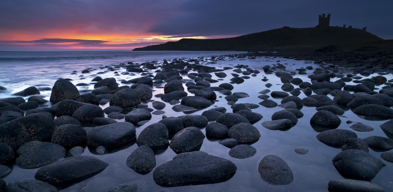 Luminous dawn - Northumberland