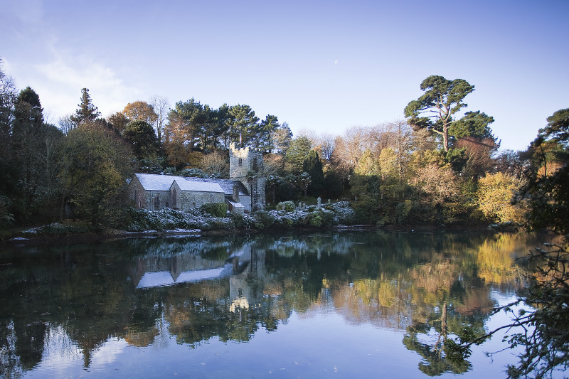 Winter wonderland - The Roseland Cornwall