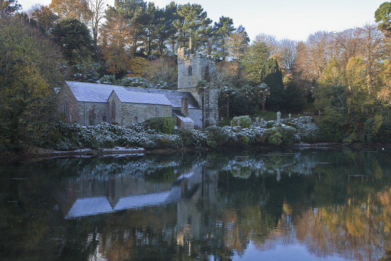 Winter morning - The Roseland Cornwall